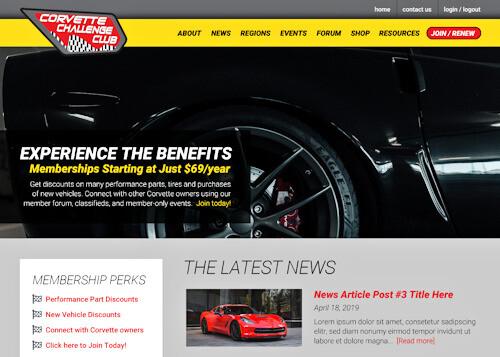 Corvette Challenge Club