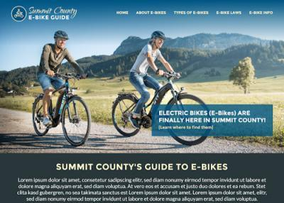 Summit County E-bikes Guide